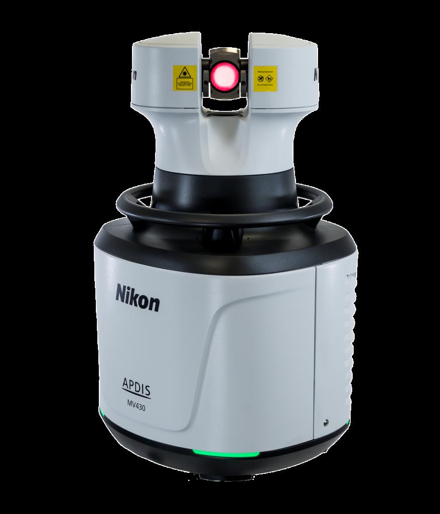 Компания Nikon Metrology представила новое поколение лазерных радаров: Nikon Metrology APDIS серии MV400.